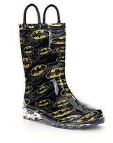 Western Chief Batman Signal Night Light Boys' Rain Boots