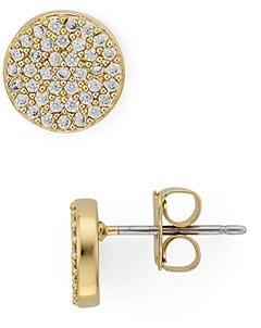 Nadri Circle Stud Earrings