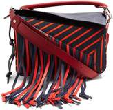 Loewe Puzzle Fringes canvas bag