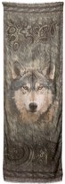 Etro Modal & Cashmere Wolf Printed Scarf