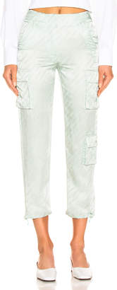 Off-White Off White Cargo Pant in Light Green | FWRD