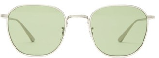 The Row X Oliver Peoples Board Meeting 2 Metal Sunglasses - Green