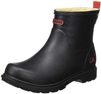 Viking Women's Noble Winter Rain Boots, Black (Black 2), 5.5-6 UK