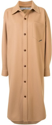 Alexander Wang Oversized Shirt Coat