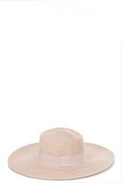 Quiz Pink Straw Hat