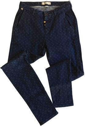 Maison Scotch Blue Cotton Jeans for Women