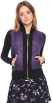 Juicy Couture Iridescent Puffer Vest