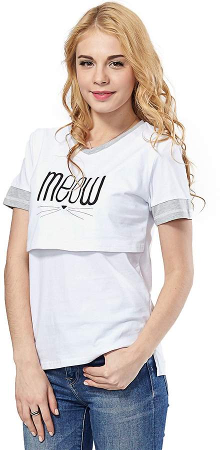 63507eb204938 Grey Maternity Tops - ShopStyle Canada