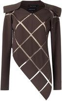 Gloria Coelho panelled blouse