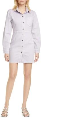 Bertha Long Sleeve Denim Shirtdress