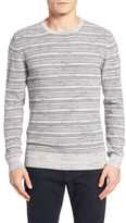 Billy Reid Stripe Crewneck Sweater