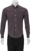 Band Of Outsiders Plaid Button-Down Shirt