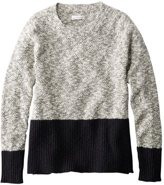 L.L. Bean L.L.Bean Women's Signature Cotton/Linen Ragg Crewneck Sweater