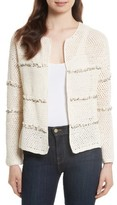 Joie Women's Jacquine Embellished Open Front Cardigan