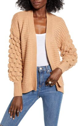 Love by Design Bubble Sleeve Cardigan