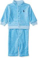 Ralph Lauren Velour Jacket & Pant Set