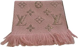 Louis Vuitton Logomania Pink Other Scarves