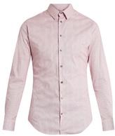 Giorgio Armani Micro-striped cotton shirt