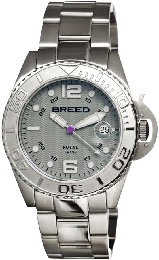 Breed Von Genf Stainless Steel Watch