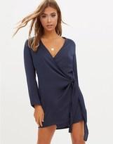 PrettyLittleThing Wrap Dress