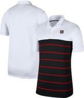 Nike Men's White/Black Ohio State Buckeyes Striped Polo
