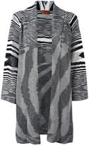 Missoni shawl lapel mid cardigan - women - Wool - 42