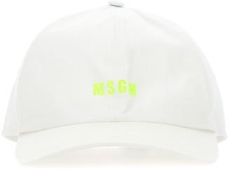 MSGM Logo Print Baseball Cap