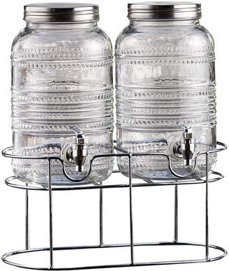 Jay Import Co Liam Double Beaded Beverage Dispenser