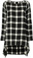 I'M Isola Marras checked asymmetric dress