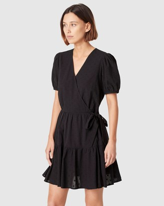French Connection Dobby Tiered Dress