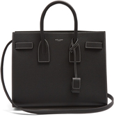 Saint Laurent Sac De Jour small grained-leather tote