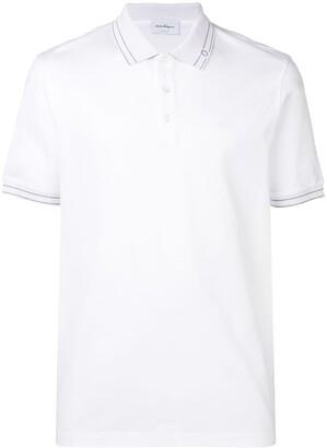 Salvatore Ferragamo Short-Sleeve Polo Shirt
