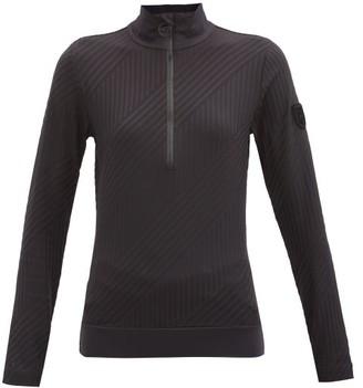 Toni Sailer Wieka Half-zip Jersey Thermal Top - Black