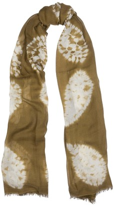 Denis Colomb Song Tie-dye Silk-blend Scarf