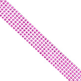 Container Store Wide Diamond Wrap Pink