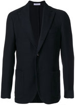 Boglioli single breasted waffle jacket - men - Cotton/Cupro - 46