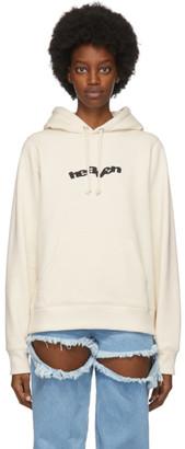 Marc Jacobs Off-White Heaven by Blocks Logo Hoodie