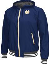 Men's Stadium Notre Dame Fighting Irish College Black Ice HD Windbreaker Jacket