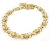 18K Yellow Gold & Diamonds Necklace