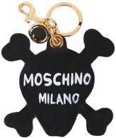 Moschino Leather Key Holder