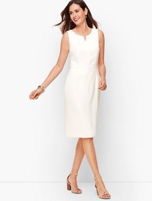 Talbots Stretch Crepe Sheath Dress