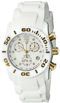 Swiss Legend Women's 10128-02-GA Commander Diamonds Analog Display Swiss Quartz Black Watch
