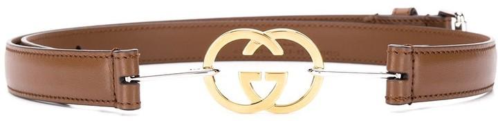 Gucci interlocking G buckle belt