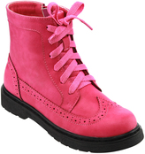 Jelly Beans Fuchsia Lace-Up Cole Boot