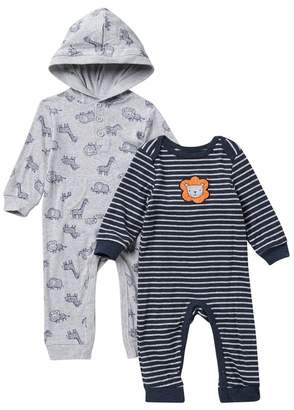 Little Me Lion Safari Coverall - Pack of 2 (Baby Boys)