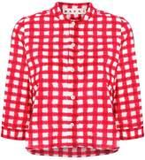 Marni cropped checked shirt