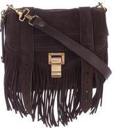 Proenza Schouler PS1 Suede Crossbody Bag