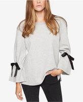 Sanctuary Tierney Cotton Bell-Sleeve Sweatshirt