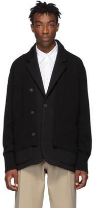 Maison Margiela Black Double Layer Jacket