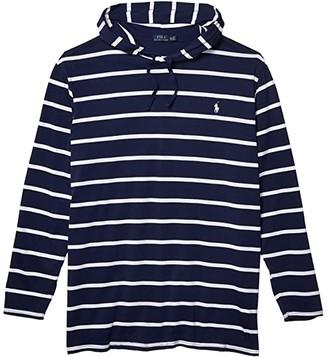 Polo Ralph Lauren Big & Tall Big Tall Long Sleeve T-Shirt (Newport Navy/White) Men's T Shirt